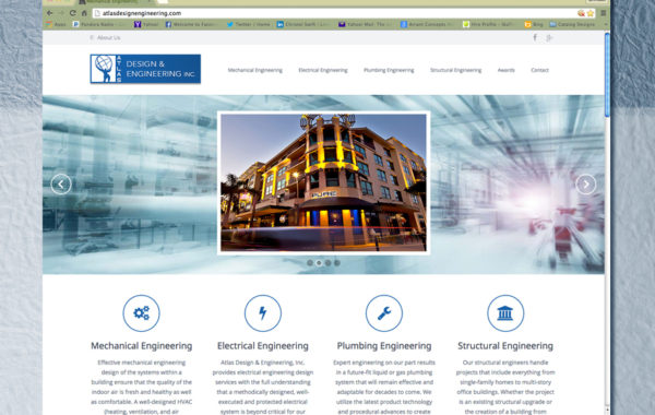 Atlas Engineering – Website Design