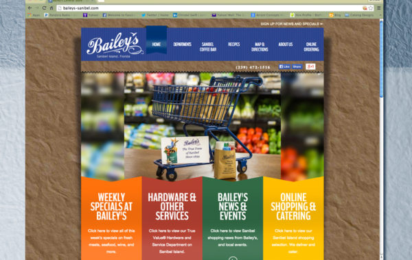 Bailey's General Store – Website Design