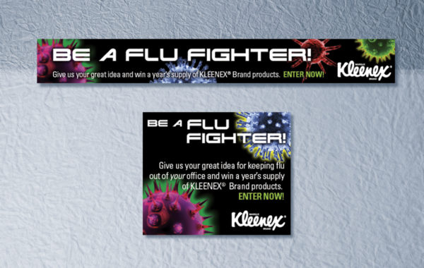 "KLEENEX® – ""Flu Fighter"" Online Ads"
