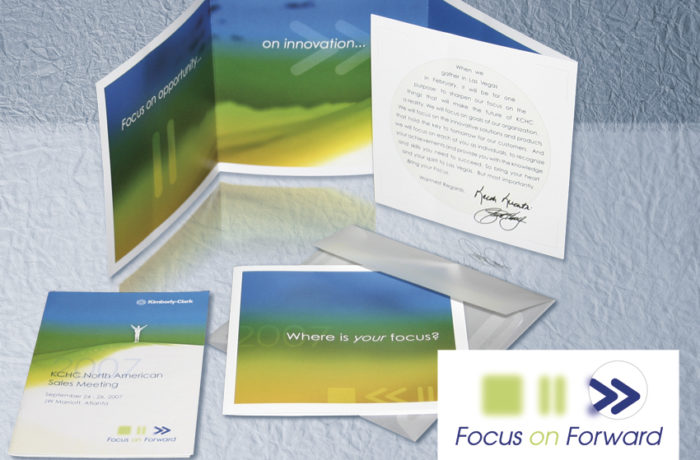 "Kimberly-Clark – ""Focus on Forward"""