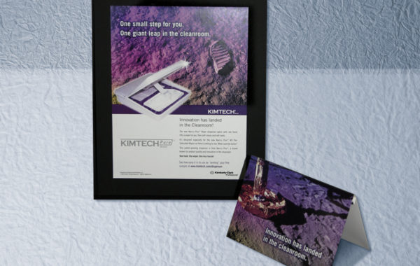 "Kimtech – ""One Small Step"" campaign"