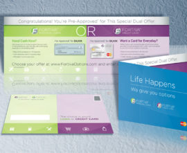 Fortiva Dual Offer Direct Mail