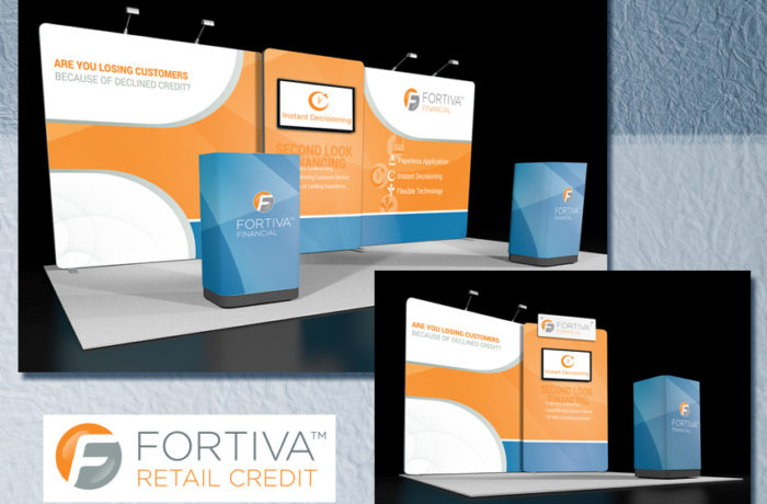 Fortiva Retail Credit Trade Show Booth