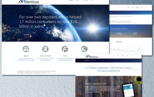 Atlanticus – Website Design